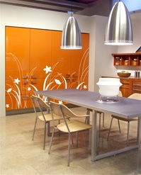 Modern Prairie Grass wall decals stickers