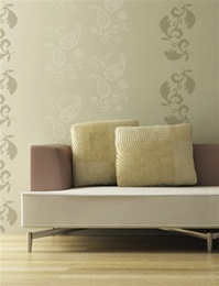 Paisley wall decals stickers