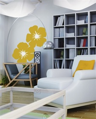 Poppies wall decals stickers