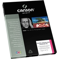 "Canson-Infinity Photo HighGloss Premium RC 17""x22"" - 25 Sheets"
