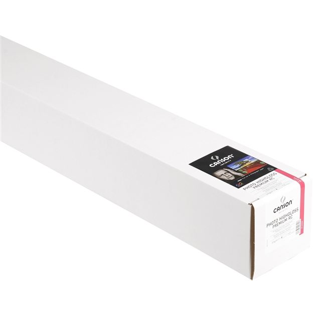 "Canson-Infinity Photo HighGloss Premium RC 315gsm 44""x50' Roll"