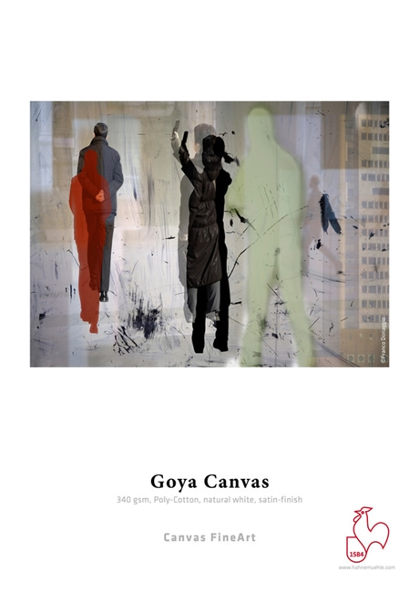 Hahnemuhle Goya Canvas 44in x 39ft Roll