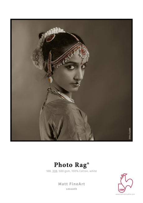 "Hahnemuhle Fine Art Photo Rag 188 gsm 13""x19"" 25 Sheets"