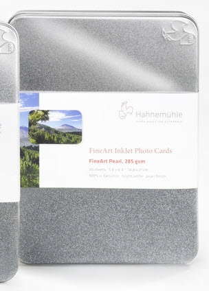 "Hahnemuhle Fine Art Pearl 285gsm Fine Art Photo Cards 4""x6"" 30 Sheets"