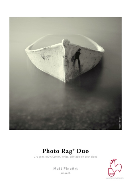 "Hahnemuhle Fine Art Photo Rag Duo 276gsm 13""x19"" 25 Sheets"