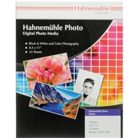 "DISCONTINUED Hahnemuehle Photo Glossy 290gsm 11""x17"" 25 Sheets"