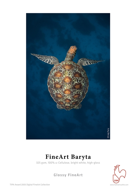 "HAHNEMUHLE FineArt Baryta 325gsm 8.5""x11"" 25 Sheets"