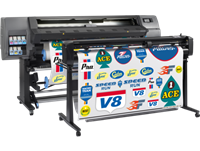 HP Latex 335 Printer Print and Cut Solution