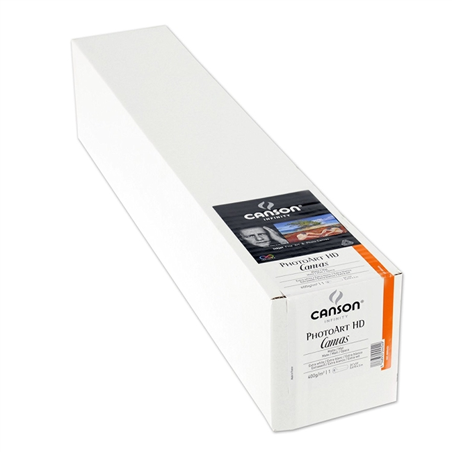 "DISCONTINUED CANSON  PhotoART HD Canvas 36""x40ft Roll"