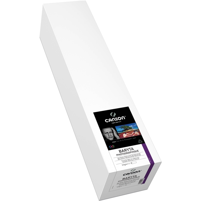 "Canson Baryta Photographique 310gsm 50""x50ft roll"