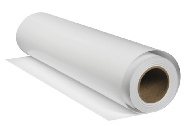 "Premier Museum Bright Satin Canvas 350gsm 24""x40ft Roll with 2in Core"