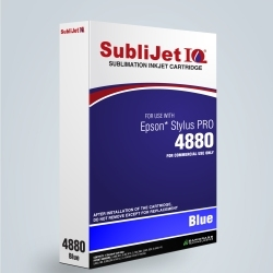 SubliJet-E IQ XG 8 Blue Ink (position 5) for Epson 4880
