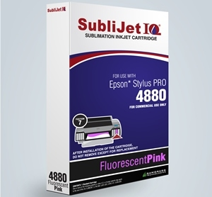 SubliJet-E IQ XG 8 Fluorescent Pink Ink (position 7) for Epson 4880