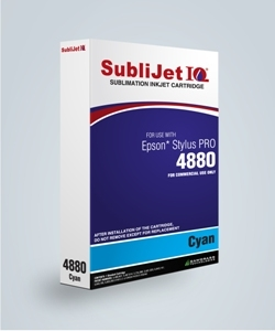 SubliJet-E IQ XG 8 Cyan Ink (position 2) for Epson 4880