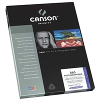 "CANSON INFINITY Rag Photographique 210gsm 8.5""x11"" - 25 Sheets"