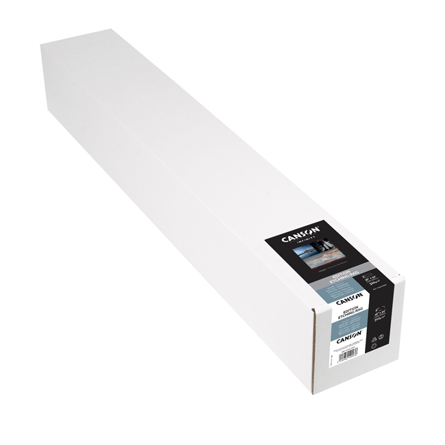 "CANSON INFINITY Edition Etching Rag 310gsm 36""x50ft Roll"