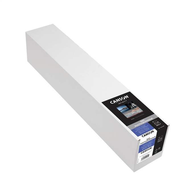 "CANSON INFINITY Rag Photographique 210gsm 17""x50' Roll"