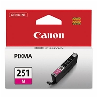 Canon CLI-251M Magenta Ink Cartridge for Canon MG6320, IP7220, MG5420, MX922