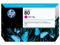 HP No. 80 Magenta Ink Cartridge (HP C4874A), 175 ml