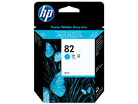 HP #82 69ml. Cyan Ink Cartridge