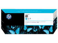 HP #81 Cyan Ink Cartridge Dye