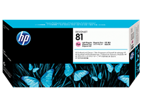 HP No. 81 Light Magenta Printhead and Cleaner C4955A