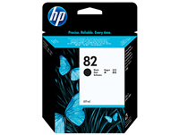 HP #82 Black ink  69 mil
