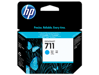 HP 711 Cyan 29-ml ink cartridge for T120, T520