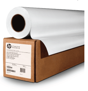 "HP Heavyweight Coated Paper, 3-in Core - 54""x200'"