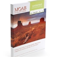 "Moab Somerset Enhanced Velvet 225gsm 11""x17"" 25 Sheets"