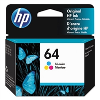 HP 64 Tri Col Original Ink Cartridge