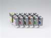 Full Set of Canon 130ml Ink Tanks for Canon iPF5100, iPF6100 and iPF6200 Printer