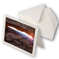 "Moab by Legion Entradalopes Bright White 190gsm 5""x7"" 25 Cards/Envelopes"