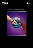Epson Velvet Fine Art Paper 17in x 22in - 25 Sheets