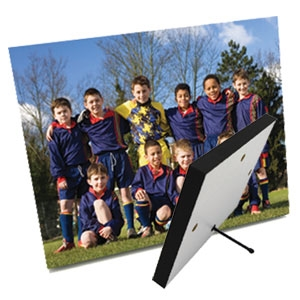 SIMPLY ELEGANT Photo Panel 5x7 Black Edge with stand - case of 10