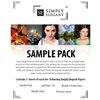 "Simply Elegant Photo Paper Sample Pack - 8.5""x11"" - 15 Sheets"