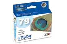 Epson Claria High Capacity Ink Light Cyan for Stylus Photo 1400, Artisan 1430 - T079520