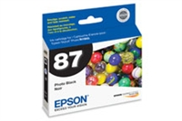 Epson 87 UltraChrome Ink Photo Black for Stylus Photo R1900 - T087120