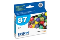 Epson 87 UltraChrome Ink Cyan for Stylus Photo R1900 - T087220