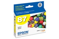 Epson 87 UltraChrome Ink Yellow for Stylus Photo R1900 - T087420