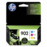 HP 902 3-pack Cyan/Magenta/Yellow Original Ink Cartridges - T0A38AN