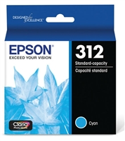 Epson 312 Claria Photo HD Cyan Ink for XP-15000