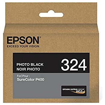Epson 324 Photo Black Ink Cartridge for SureColor P400