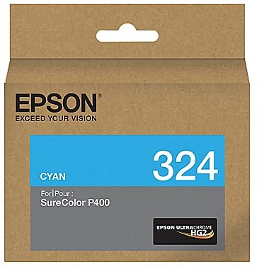 Epson 324 Cyan Ink Cartridge for SureColor P400 - T324220