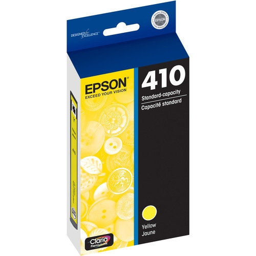 Epson Claria Yellow Ink for Expression XP-830 and XP-640