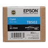 Epson UltraChrome HD Ink Cartridge 80ml For Epson SureColor P800 - Cyan