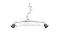 Remus NON-RESONATED RACING Cat Back Sport Exhaust ALFA ROMEO Giulia Veloce, 4WD, type 952, 2.0l Turbo