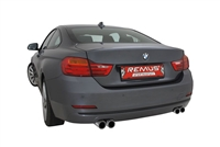 Remus Axle-back Sport Exhaust BMW F30/F31 335i 3.0L sedan