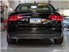 AWE Tuning B8 A4 Non S-Line (Carbon Fiber) Quad Tip Valance Conversion Kit (Heat shield and hardware included)