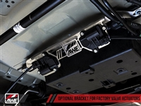 AWE Valve Motor Bracket for 2018 + Mustang GT with the Active Valve Performance Exhaust